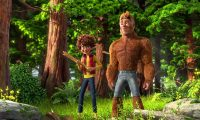 Bigfoot family 2 film pinsaguel plein air veo 7