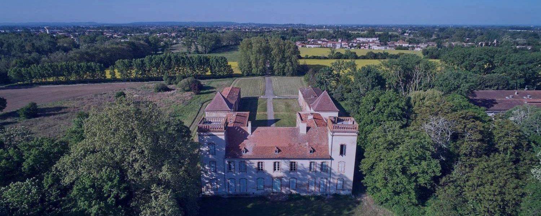 photo Château Bertier - Véo - Château de Pinsaguel - cinéma plein air