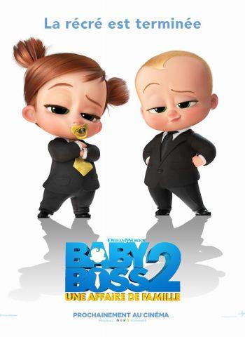 affiche film Baby Boss 2 Une affaire de famille cinéma véo plein air pinsaguel