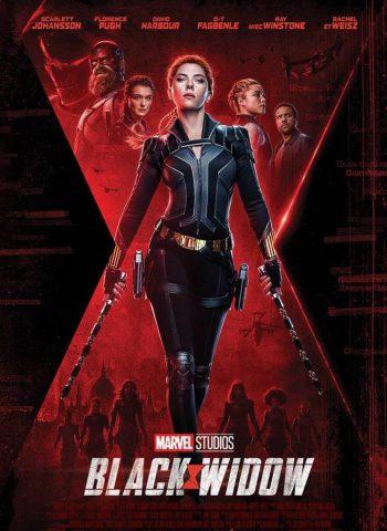 affiche film Black Widow cinéma plein air véo pinsaguel