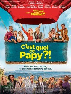 affiche film C'est quoi ce papy ! cinéma véo pinsaguel