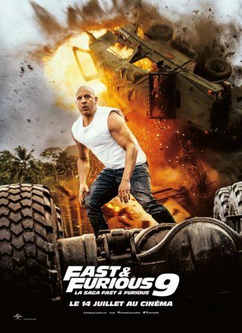affiche film Fast & Furious 9 cinéma plein air véo pinsaguel