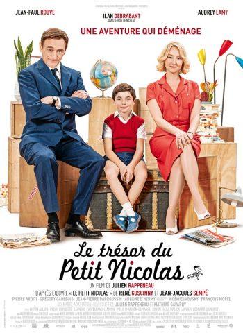 affiche film Le Trésor du Petit Nicolas cinéma véo plein air pinsaguel