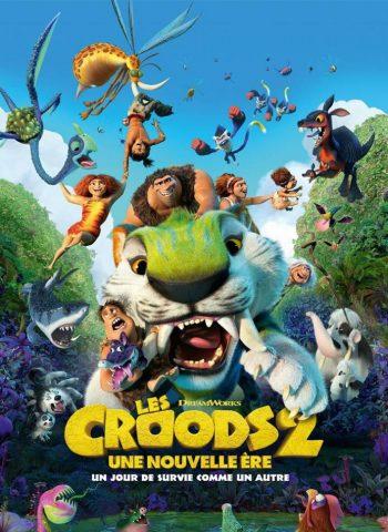 affiche film Les Croods 2 cinéma pinsguel