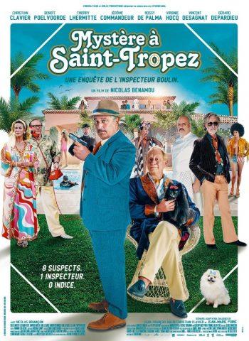 affiche film Mystère à Saint-Tropez cinéma plein air véo pinsaguel