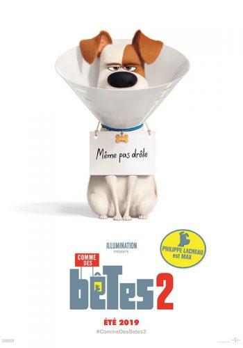 affiche film comme des bêtes 2 - Véo - Château de Pinsaguel - cinéma plein air