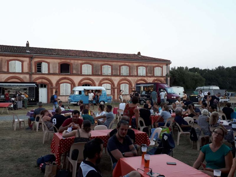 photo guinguette cinéma véo chateau pinsaguel 2021 plein air