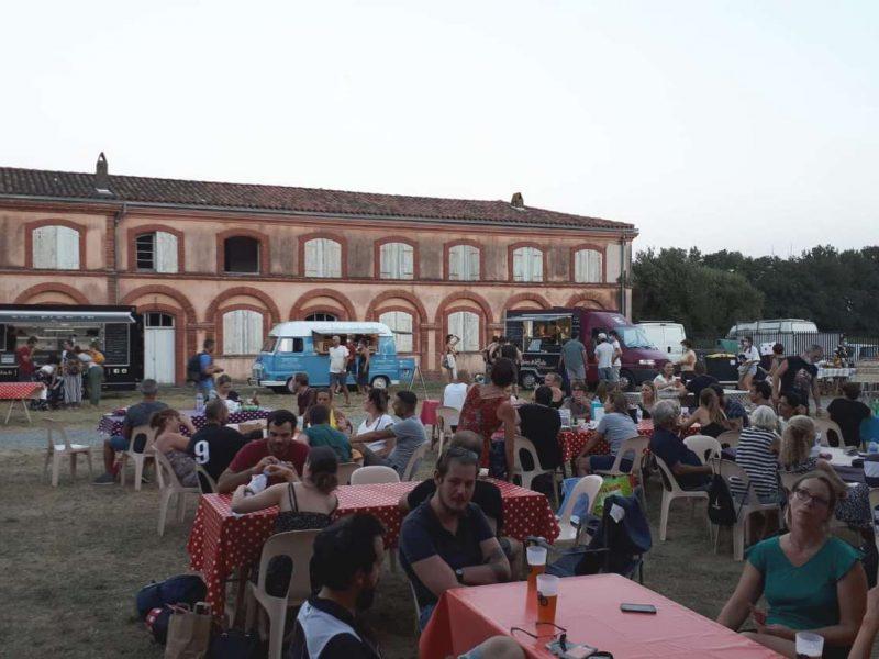 photo guinguette cinéma véo chateau pinsaguel 2020 plein air