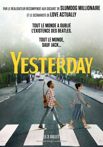 affiche film yesterday - Véo - Château de Pinsaguel - cinéma plein air